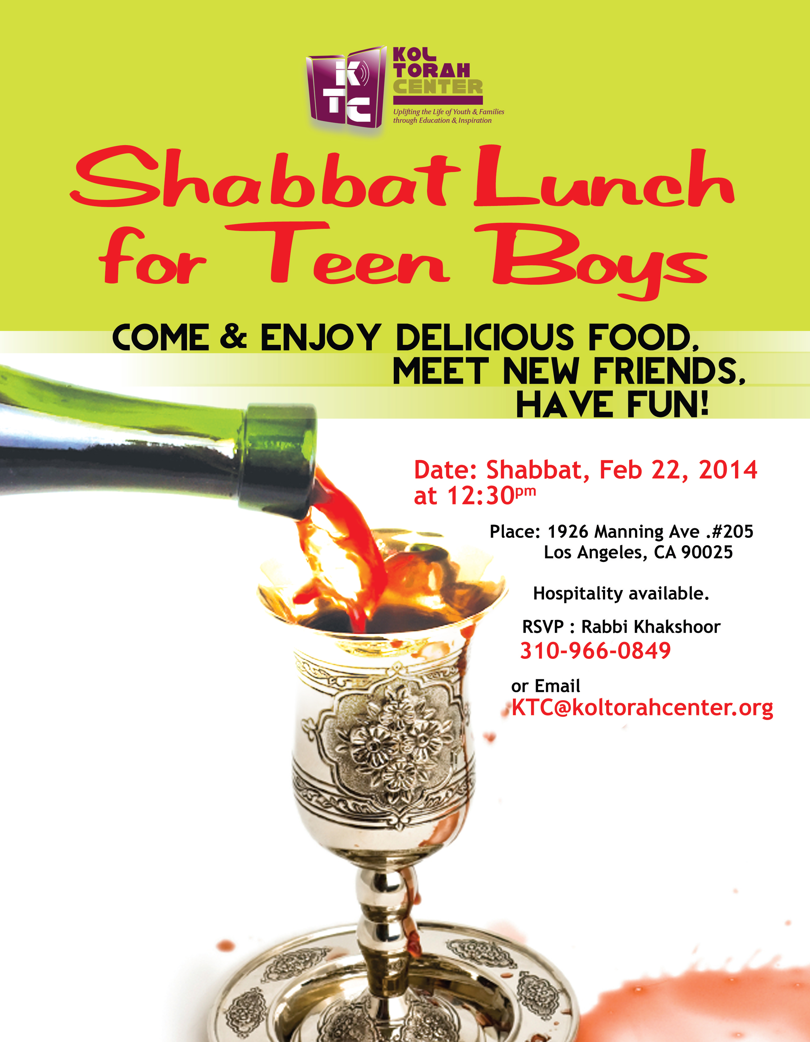 Teens Luncheon
